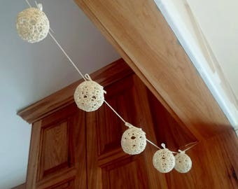 Lacy Crocheted Ornaments
