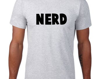 CLEARANCE, Nerd T Shirt, Funny Tshirt, Geek, Nerd Tshirt, Geeky Funny Tee, Nerdy TShirt, , Funny T Shirt,  sm-5xl plus size