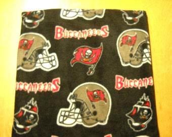 """Tampa Bay Buccaneers Fleece Pillow Cover  - 16"""" x 16"""""""