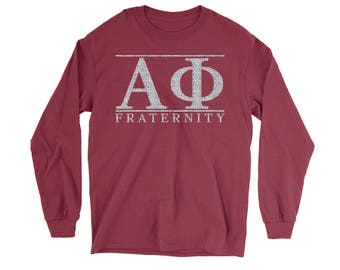 Alpha Phi Choose Your Colors Sorority Sweatshirt D2UnIg