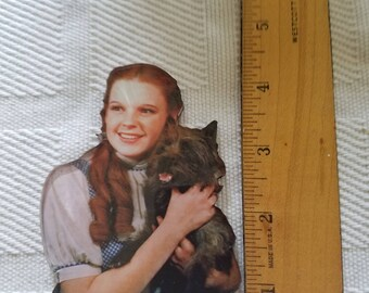 Dorothy and Toto Fiberglass Magnet