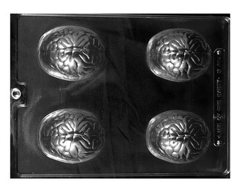 The Brain Chocolate Molds - Halloween - Baking Candy Making Party Supplies
