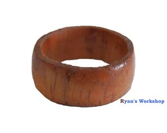 New Guinea Rosewood Wooden Ring Jewellery