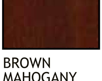wiping wood and architectural wiping stains 2 Brown Mahogany Qt