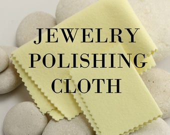 Polishing cloth for gold, silver, gold fill, brass, copper, and other metals