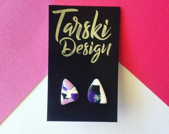 Rounded Triangle Studs