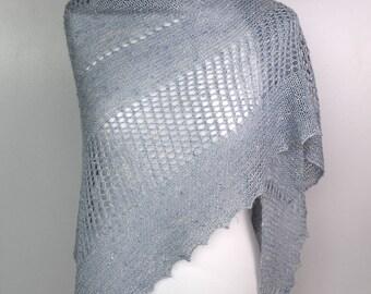 Tussah silk wrap, Wedding lace shawl, Women sommer wrap, Bridal silk shawl, Wild silk lace wrap