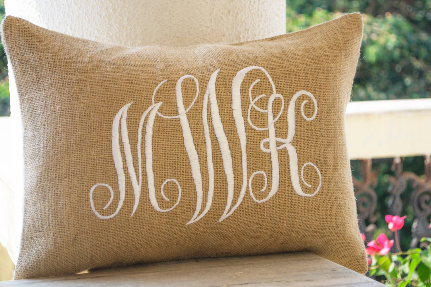 eleven pillows by number four monogrammed pillow pinterest pin