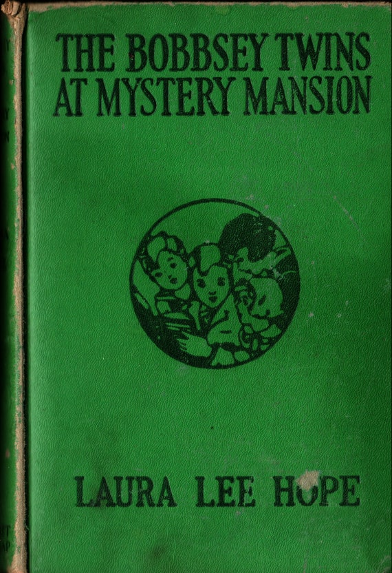 The Bobbsey Twins at Mystery Mansion + Laura Lee Hope + 1945 + Vintage Mystery Book