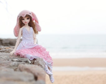 Dress *Doll clothes for MSD BJD size.
