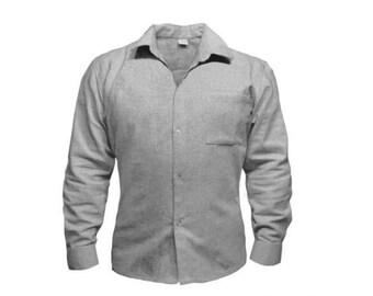 100% Organic Hemp&Cotton Shirt for Men