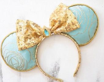 Princess Jasmine Inspired Minnie Mouse Ears