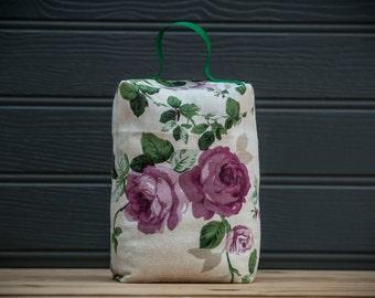 Rose Fabric Door Stop