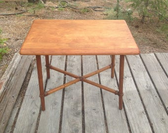 Heywood-Wakefield X Base Vintage Coffee Table