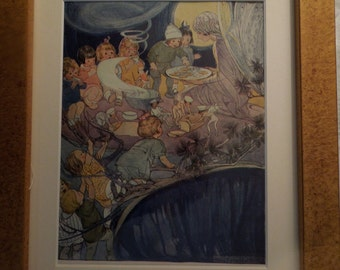 Framed Children's Book Illustration
