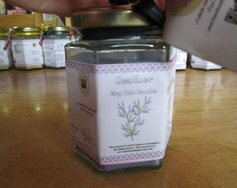 Heather Scented Soy Wax Candle 300g