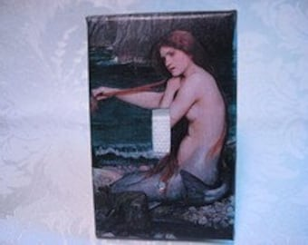 Mermaid Light Switch Plate Cover