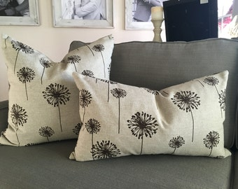 Dandelion Print Down Feather Pillow
