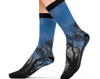 Night Tree Socks