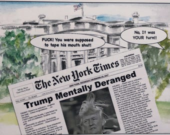 Trump and the New York Times Interview, He Has Lost His Mind