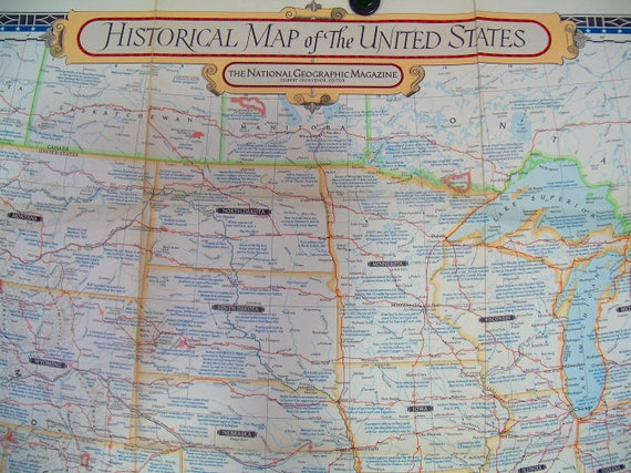 National Geographic United States Map - Free Usa Maps