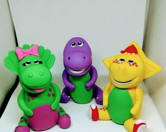 Barney Cake Etsy