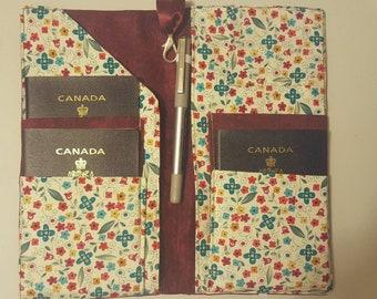 passport wallet, passport holder, passport case, travel accessory