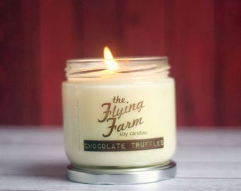 Chocolate Truffles ~ Scented Soy Jar Candle
