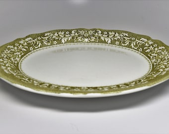 ROYAL STAFFORDSHIRE SHERWOOD Platter ~ Royal Staffordshire Sherwood Ironstone Oval Platter ~ Royal Staffordshire Platter ~ Ironstone Platter