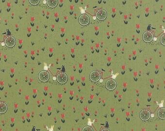 Mon Ami by BasicGrey - Bicyclette in Vert (30413-15) - Moda - 1 Yard