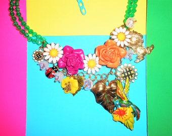 Garden Glam Slam Necklace