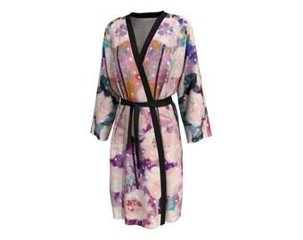 Flower Power • Peignoir Robe