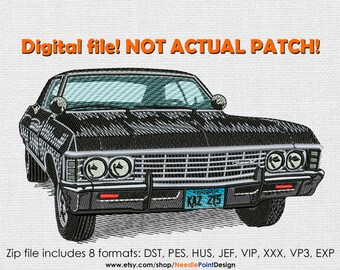 INSTANT DOWNLOAD - Impala machine embroidery design. Embroidery file