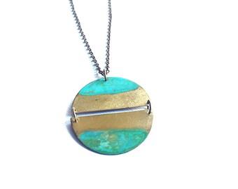 Ocean Tide Full Moon Necklace