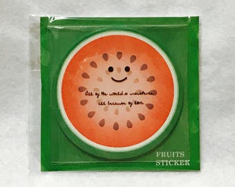 Cute Watermelon Sticky Memo Paper / Removable Notes / Post-it - Free Shipping