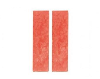 2 loaves Oyumaru red clay oyumaru