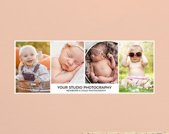 Facebook Timeline Template, Facebook Cover Template for Photographers, Instant Download