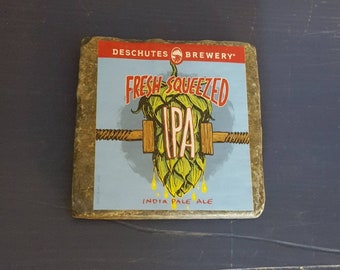 Granite Tile Craft Beer Coaster- Fresh Squeezed