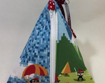 Ninja Gnome Triangle Bag