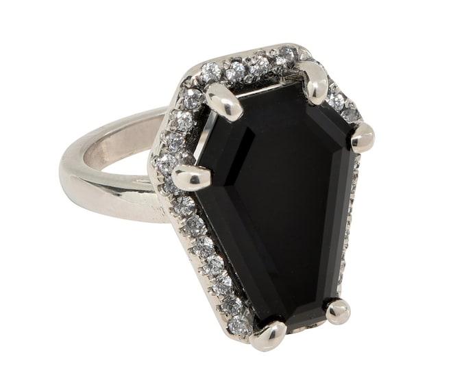Coffin Gems® - 5CT HALO RING