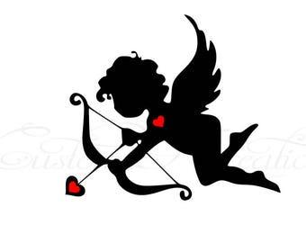 Cupid_ Valentines SVG File