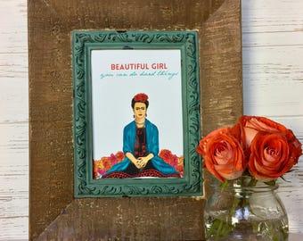 Beautiful Girl Frida Kahlo Art Print