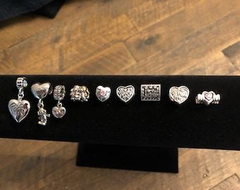 Mom Charms for Euro Style Bracelets or Necklaces - Assorted Choices