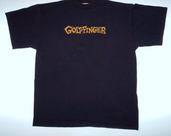 Goldfinger - Vintage Punk T-Shirt Large