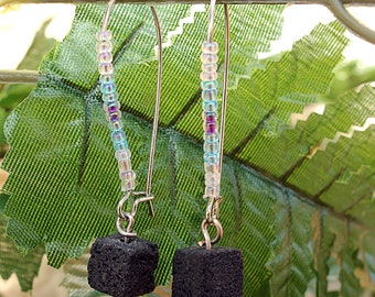 Arome therapy lava earrings