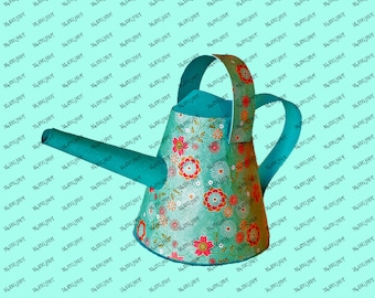 Watering Can 3D  DIGITAL download