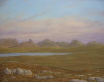 Inverpolly...Sutherland  Scotland  original oil painting