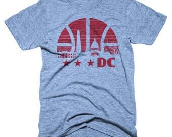 Light Blue DC Basketball T-shirt