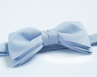 Soft Blue Bow Tie for Men Wedding Bow Tie Mens Bow Tie for Groom Baby Blue Bow Tie Gift for Men Gift for Hubby Christmas Present