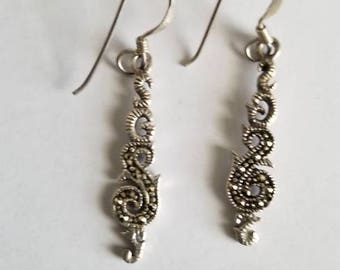 Beautifully crafted Sterling Silver earrings.